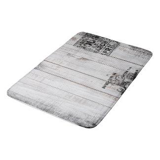 Grunge wooden Large Bath Mat