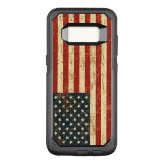 Grungy American Flag USA OtterBox Commuter Samsung Galaxy S8 Case