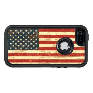 Grungy American Flag USA OtterBox iPhone 5/5s/SE Case