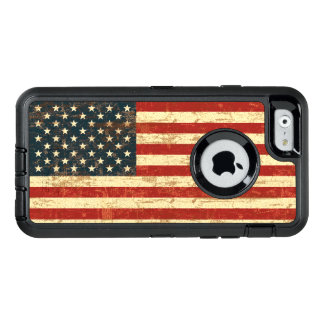 Grungy American Flag USA OtterBox iPhone 6/6s Case