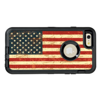 Grungy American Flag USA OtterBox iPhone 6/6s Plus Case