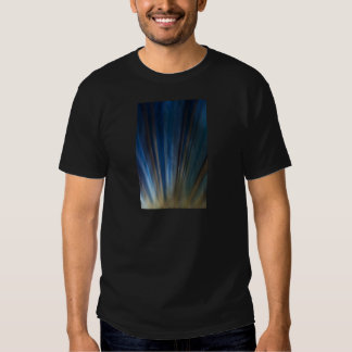 Grungy Blue Gold Lines Texture Background T Shirts