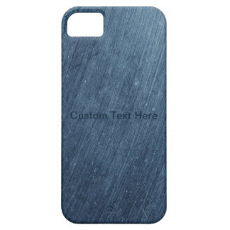 Grungy Blue Metal iPhone 5 Covers