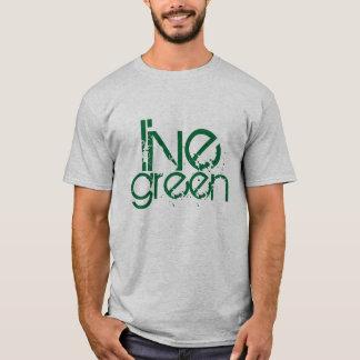 grungy cool live green environmental message T-Shirt