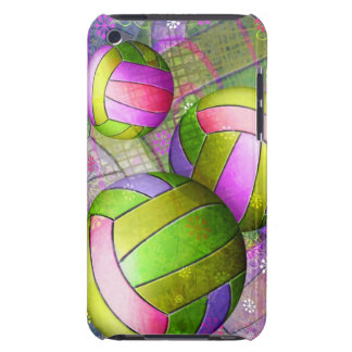 Grungy Girly Volleyball Barely There iPod Cover