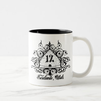 Grungy Graphic Hwy 12 Coffee Mugs