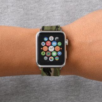 Grungy Green Camo Apple Watch Band