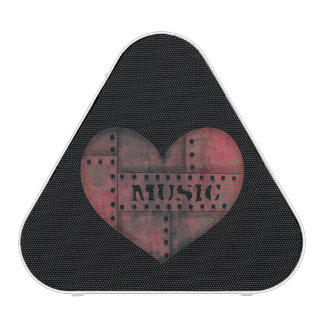Grungy industrial punk heart Valentines Day
