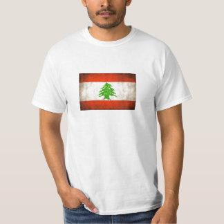 Grungy Lebanon Flag T-Shirt