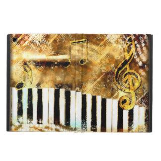 Grungy Music Gold iPad Air Case
