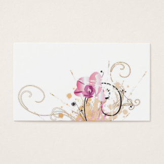 Grungy orchids Profile Card