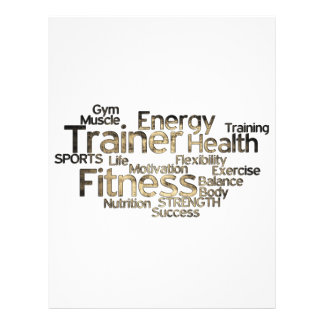Grungy Personal Trainer Flyer
