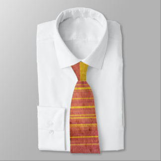 Grungy Red and Yellow Tie