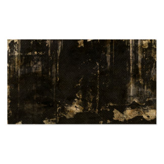 Grungy Ripped Black Background Pack Of Standard Business Cards
