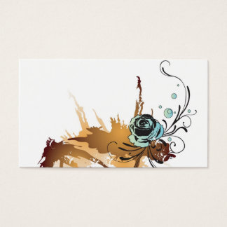 Grungy rose Profile Card
