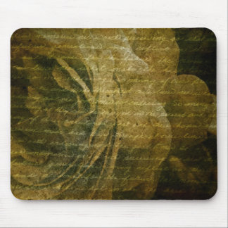 grungy rose texture mouse pad