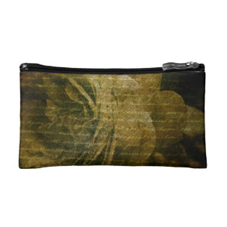 grungy rose texure Bagettes Bag Makeup Bags