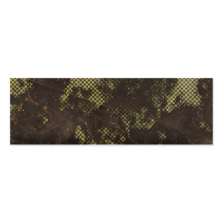 grungy rusty green halftone background business card template