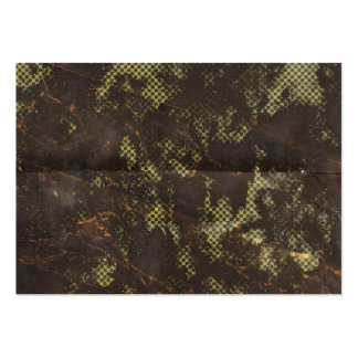 grungy rusty green halftone background business cards