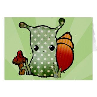 Grungy Snail Card