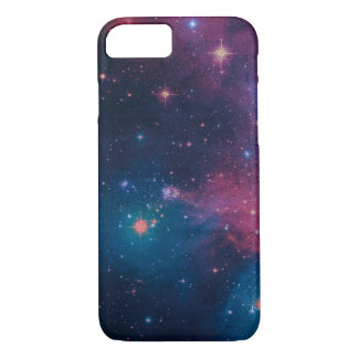 Grungy space style design iphone 7 case