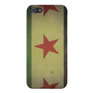 Grungy Syria Flag iPhone 5/5S Cover