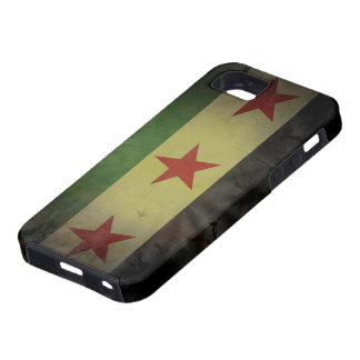 Grungy Syria Flag iPhone 5 Covers