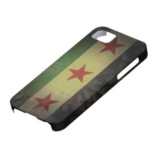 Grungy Syrien-Flagge Barely There iPhone 5 Case