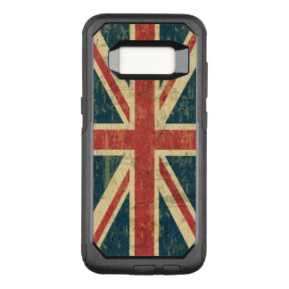 Grungy Union Jack OtterBox Commuter Samsung Galaxy S8 Case