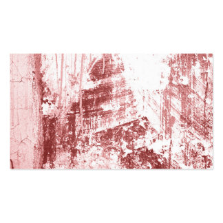Grungy wall,rusty red business card