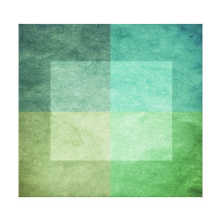 grungy watercolor-like graphic abstract 3 stretched canvas print