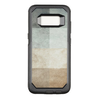 grungy watercolor-like graphic abstract OtterBox commuter samsung galaxy s8 case