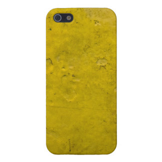 Grungy Yellow Paint iPhone 5/5S Case