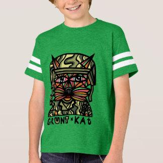"""Grunt Kat"" Boys' Sport Tshirt"