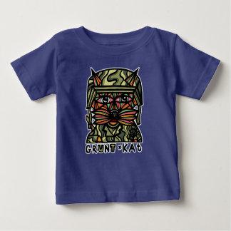 """""""Grunt Kat"""" BuddaKats Baby T-Shirt"""
