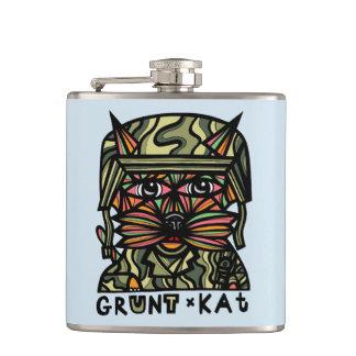 """""""Grunt Kat"""" BuddaKats Flask"""