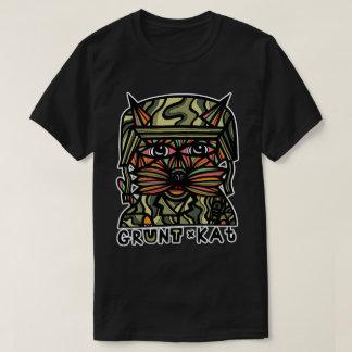 """""""Grunt Kat"""" BuddaKats Men's T-Shirt"""