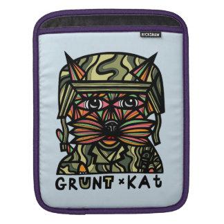"""Grunt Kat"" iPad Soft Case"
