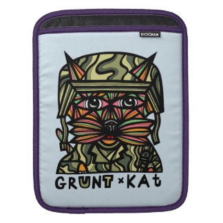 """Grunt Kat"" iPad Soft Case iPad Sleeve"