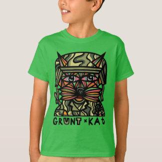 """""""Grunt Kat"""" Kids' TAGLESS® T-Shirt"""