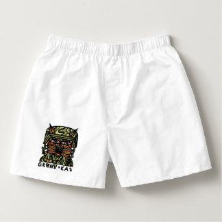"""Grunt Kat"" Men's Cotton Boxers"