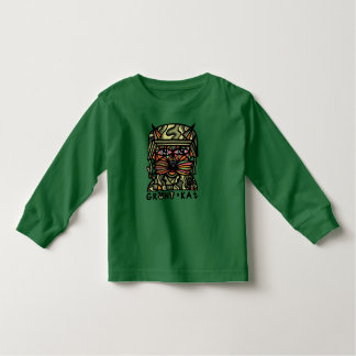 """Grunt Kat"" Toddler Long Sleeve Toddler T-Shirt"