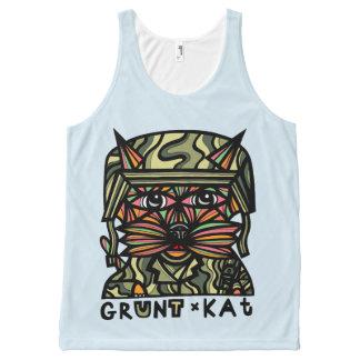"""Grunt Kat"" Unisex Tank Top"