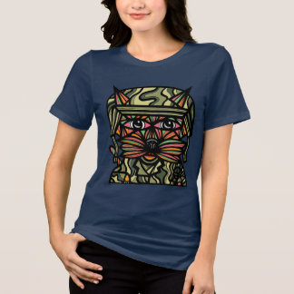 """Grunt Kat"" Women's Relaxed Fit T-Shirt"