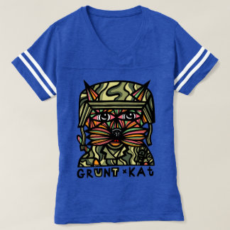 """""""Grunt Kat"""" Women's Sports Shirt"""