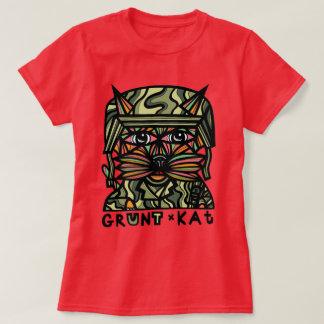 """""""Grunt Kat"""" Womens' T-Shirt"""