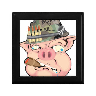 GRUNT PIG SMALL SQUARE GIFT BOX