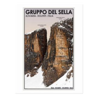 Gruppo del Sella - Nove and Dieci Postcard