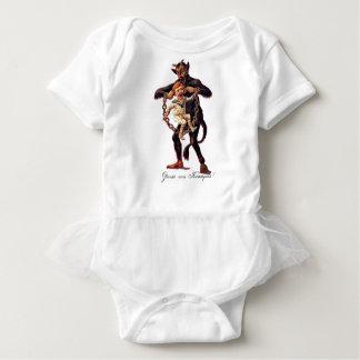 Gruss vom (Greetings From) Krampus Baby Bodysuit