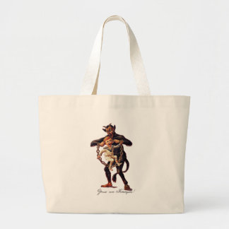 Gruss vom (Greetings From) Krampus Large Tote Bag